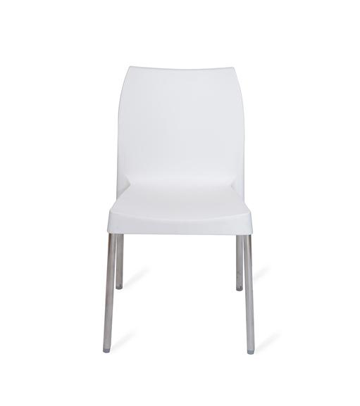 Novella 07 Chair - @home Nilkamal,  white