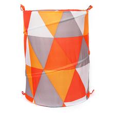 Round 42 cm x 55 cm Laundry Bag - @home by Nilkamal, Orange