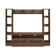 Nyle Wall Unit, Walnut