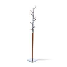 Coat Hanger Derby - @home Nilkamal,  dark walnut