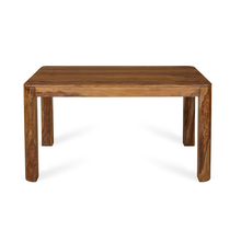 New Granada 6 Seater Dining Table, Naturl Walnut