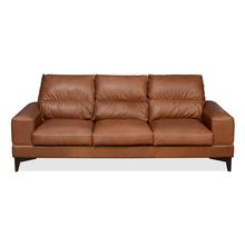 Willis 3 Seater Sofa, Tan Brown