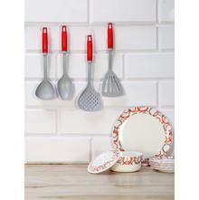 Mini Nylon 4 Pieces Kitchen Tool Set, Grey