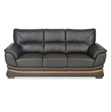 Markos 3 Seater Sofa, Dark Brown