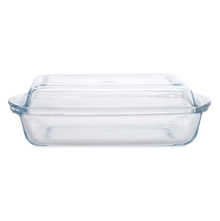 Borcam 1250 ml Rectangle Casserole with Lid