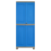 Nilkamal Freedom Big Storage Cabinet FB1, Dark Blue/Grey