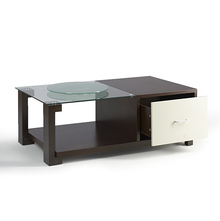 Verona Center Table - @home Nilkamal,  dark walnut