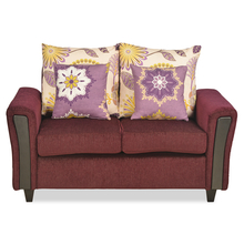 Springfeild 2 Seater Sofa - @Home By Nilkamal, Red Wine