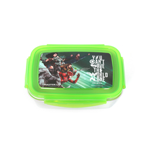Justice League 850 ml Lunch Box, Green