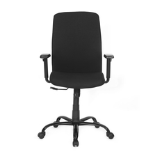 Nilkamal Bentham Mid Back Mesh Office Chair, Black
