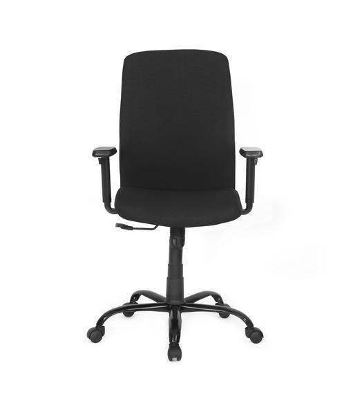 Nilkamal Bentham Mid Back Mesh Office Chair, Black