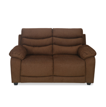 Perkins 2 Seater Sofa - @home by Nilkamal, Coffee Brown