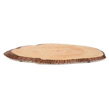 Slice 52 cm x 27 cm Pine Tray, Brown