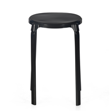 Nilkamal Orlo Stackable Stool - Black
