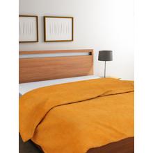 Vivo 220 cm x 240 cm Double Blanket, Mustard