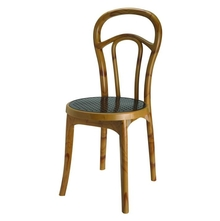 Nilkamal Chair Series 4040, Maple/Weather Brown