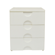 Nilkamal Chester 33 Chest of 3 Drawer, Ivory