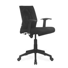 Nilkamal Thames Low Back Mesh Office Chair, Black
