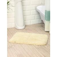 Microfiber 40 cm x 60 cm Bathmat, Cream