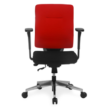 Nilkamal Charles Mid Back Office Chair,  red