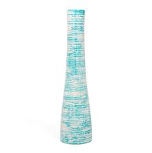 Large Artistry 12X50CM Vase, SeaGreen