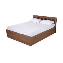Nilkamal Reegan King Bed, Walnut