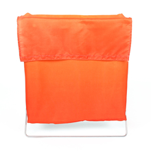 Gradation Square 44 cm x 23 cm x 50 cm Laundry Bag - @home by Nilkamal, Red & Yellow
