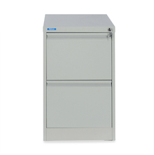 Nilkamal Titan 2 Drawer Filing Cabinet, Grey