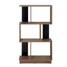 Checkers 3 Tier Book Shelf, Walnut