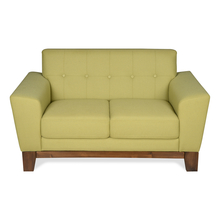 Budapest 2 Seater Sofa - @home by Nilkamal, Lush Olive