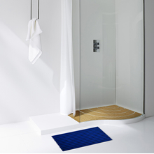 40'x60' Gradation Naxan Shower Mat @home By Nilkamal, Blue
