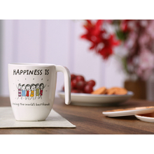 Happiness Modest bestfriend 250ML Mug, White