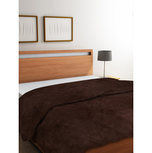 Vivo 220 cm x 240 cm Double Blanket, Brown