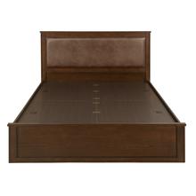 Mindy King Bed with Storage, Walnut