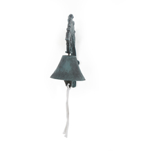 Birds Caller Medium Door Bell - @home by Nilkamal, Bronze