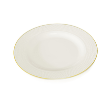 Gold Collection Dinner Plate - @home by Nilkamal, White