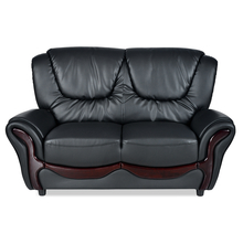 Nilkamal Lunar 2 Seater Sofa,  black