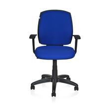 Nilkamal Jude Mid Back Office Chair, Blue