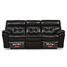 Beverly 3 Seater Sofa With 2 Manual Recliners - @home by Nilkamal,  burgundy