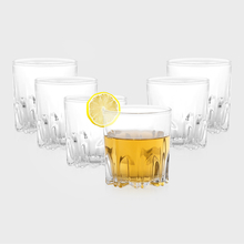 6 Piece Whisky Water Tumbler - @home Nilkamal
