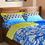 Dalliance 221 x 241 cm Double Comforter - @home by Nilkamal, Indigo