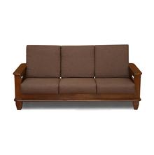 Elena 3 Seater Sofa - @home Nilkamal,  wenge