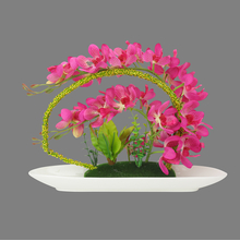 Orchid Floral Arrangement - @home by Nilkamal, Lavender