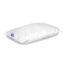 Nilkamal Fern Dorby Stripe 17 inch x 27 inch Pillow Filler, White