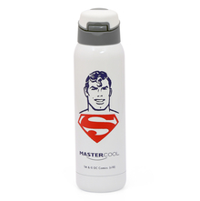 Superman 500 ml Sipper Bottle, White