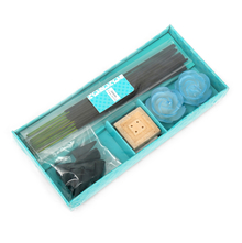 Jasmine Incense Gift Set -@home by Nilkamal, Blue