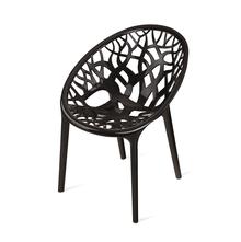 Nilkamal Crystal PP Chair,  black