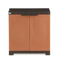 Nilkamal Freedom Mini Shoe Cabinet 09, Rust & Weather Brown