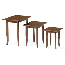 Mason Nest Table Set of 3 - @home by Nilkamal, Cappucino