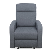 Mayfair 1 Seater Sofa with Electric Recliner - @home by Nilkamal, Slate